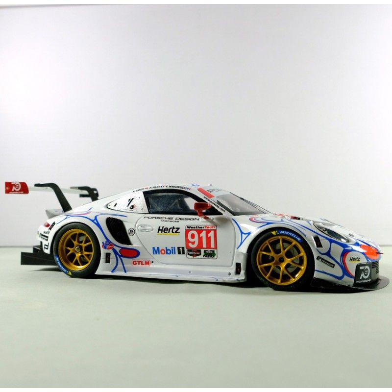 Profil24 P24113K Porsche 911 RSR n°911/912 1st GT Pro Mobil 1 Petit Le Mans 2018