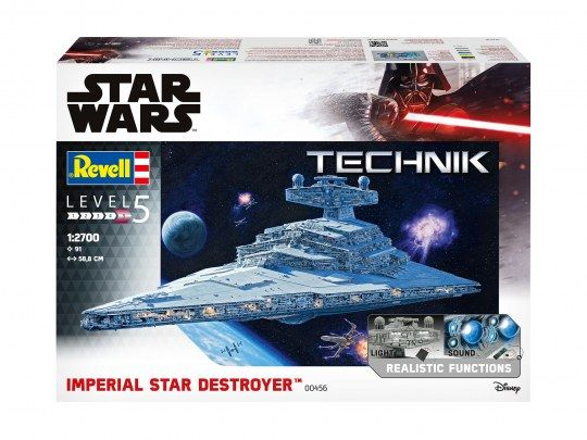 Revell 00456 Imperial Star Destroyer Technik 1/2700