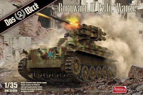 Das Werk 35008 Borgward IV Panzerjäger Wanze