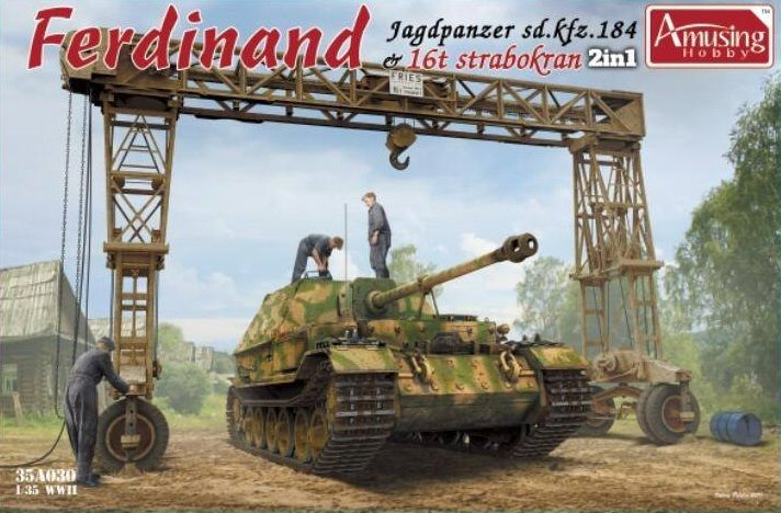 Amusing Hobby 35A030 Ferdinand with 16T Strabokran