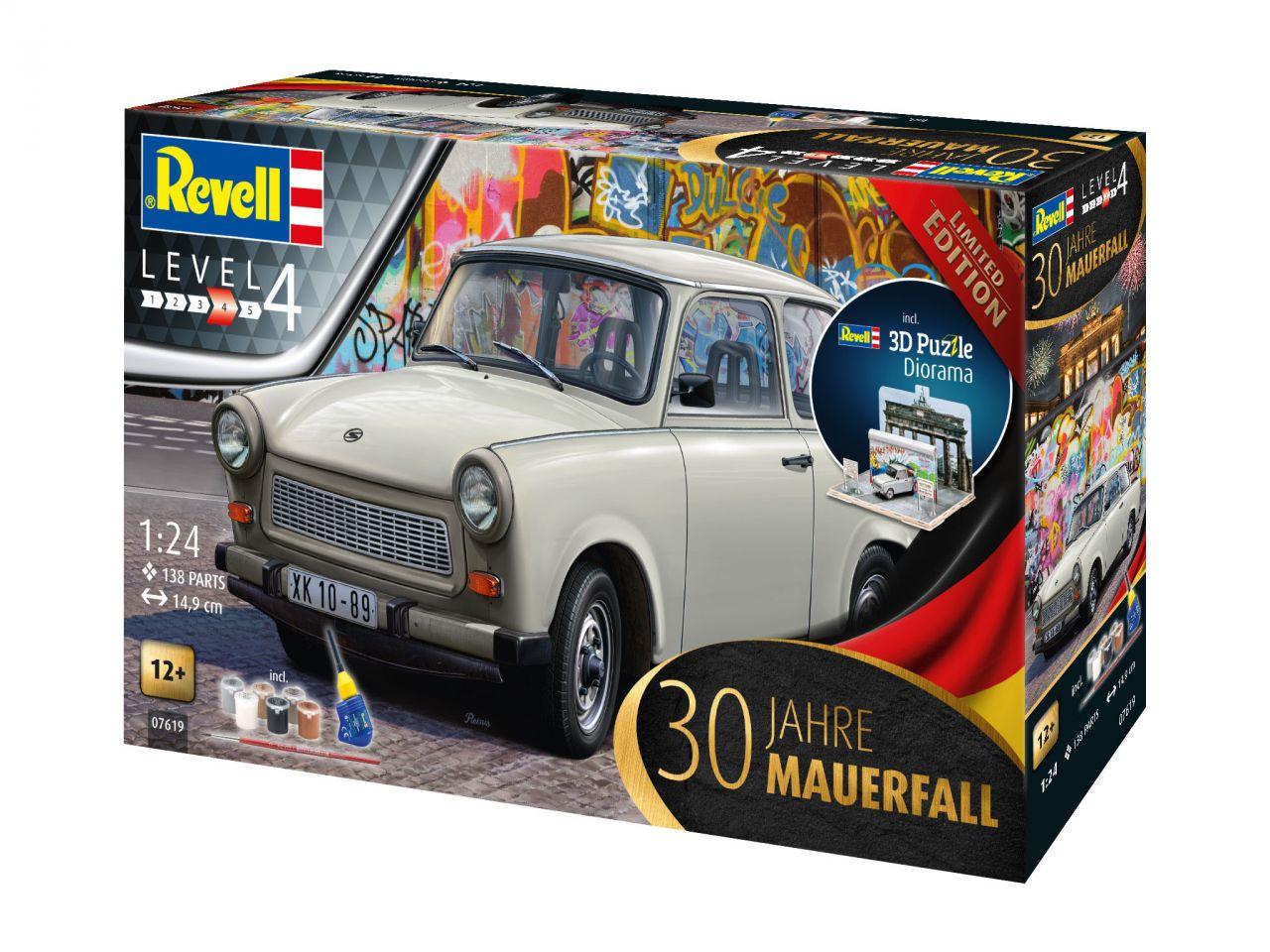 Revell 07619 Trabant 601 Mauerfall