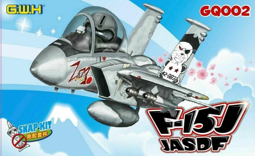 Great Wall Hobby GQ002 McDonnell F-15J Eagle JASDF Cartoon Series