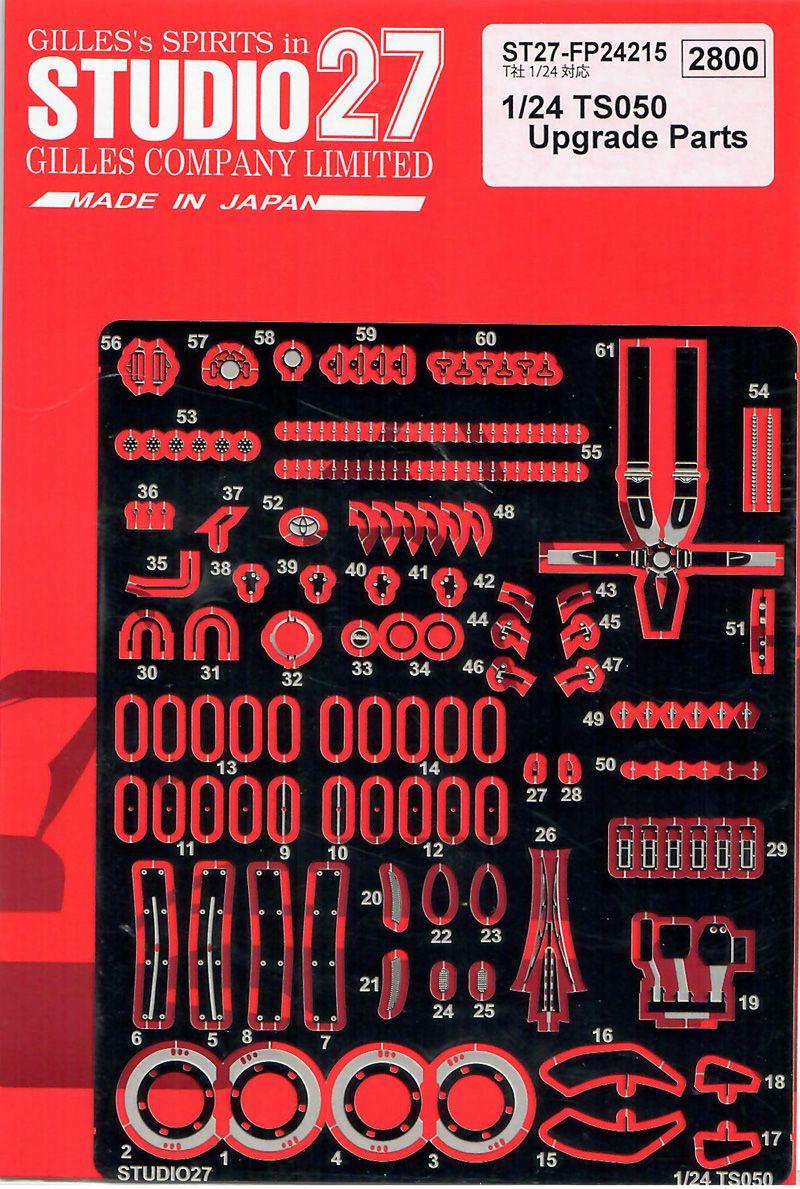 Studio 27 FP24215 TS050 Upgrade Parts