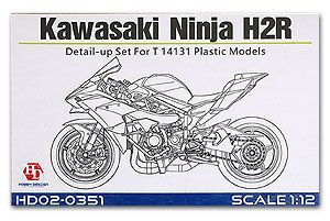 Hobby Design HD02-0351 Kawasaki Ninja H2R Detail-UP Set