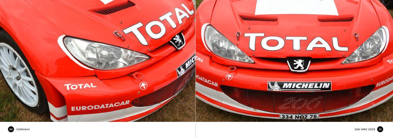 Komakai KOM-FG014 206 WRC 2003