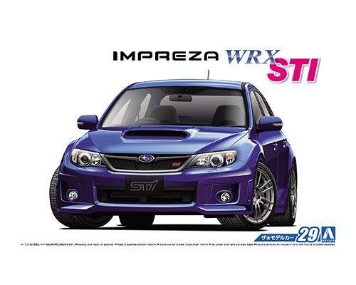 Aoshima 05834 Subaru GRB Impreza WRX STI 2010