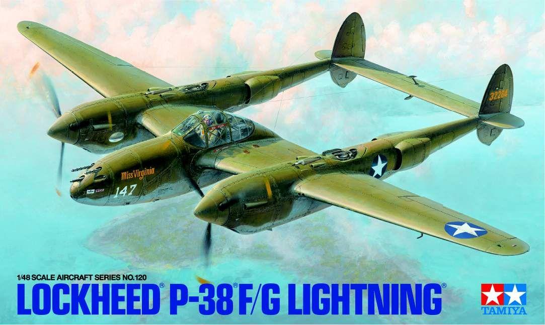 Tamiya 61120 Lockheed P-38 F/G Lightning