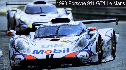 Profil24 P24114K Porsche 911 GT1 Mobil 1 1ère Le Mans 1998