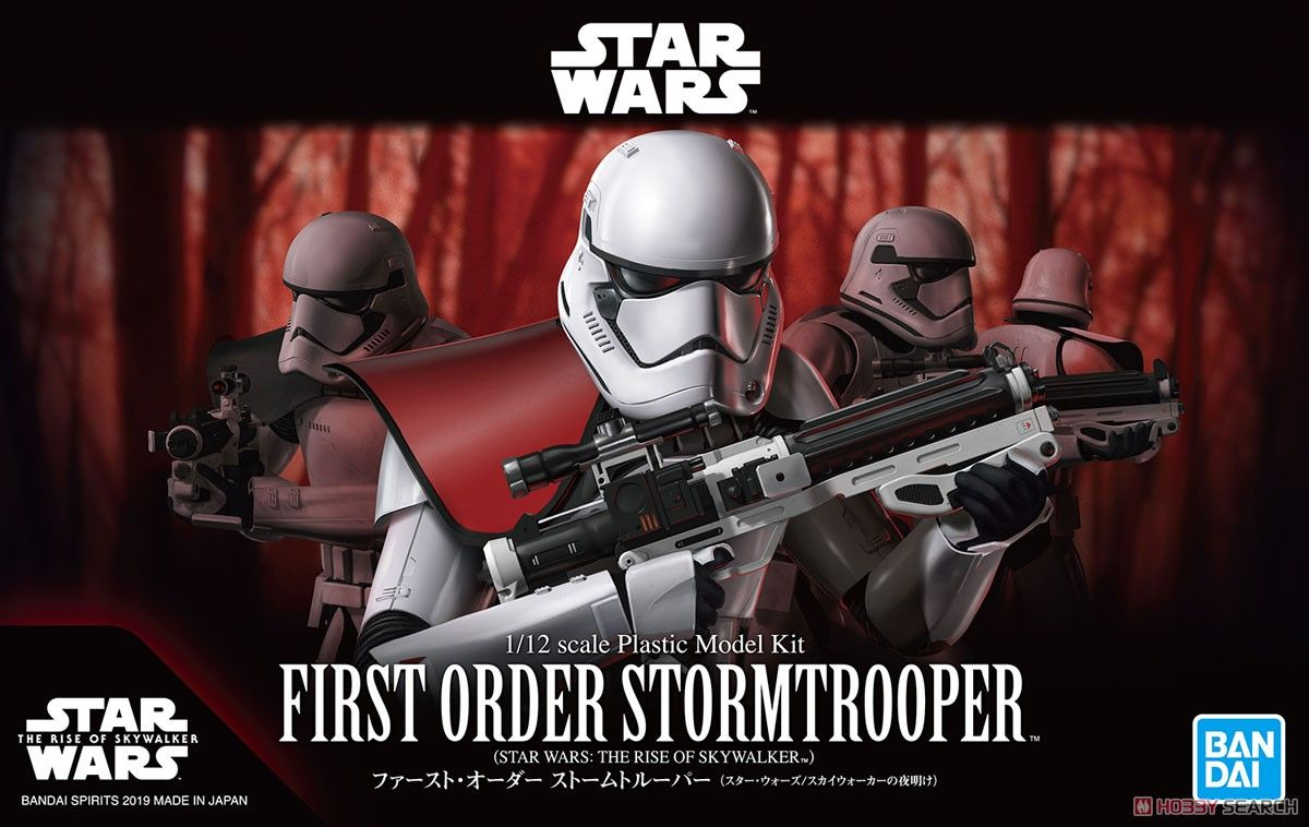 Bandai 5058882 First Order Stormtrooper (The Rise of Skywalker)