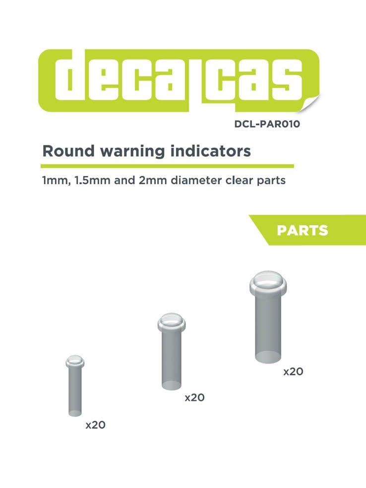 Decalcas PAR010 Round warning indicator