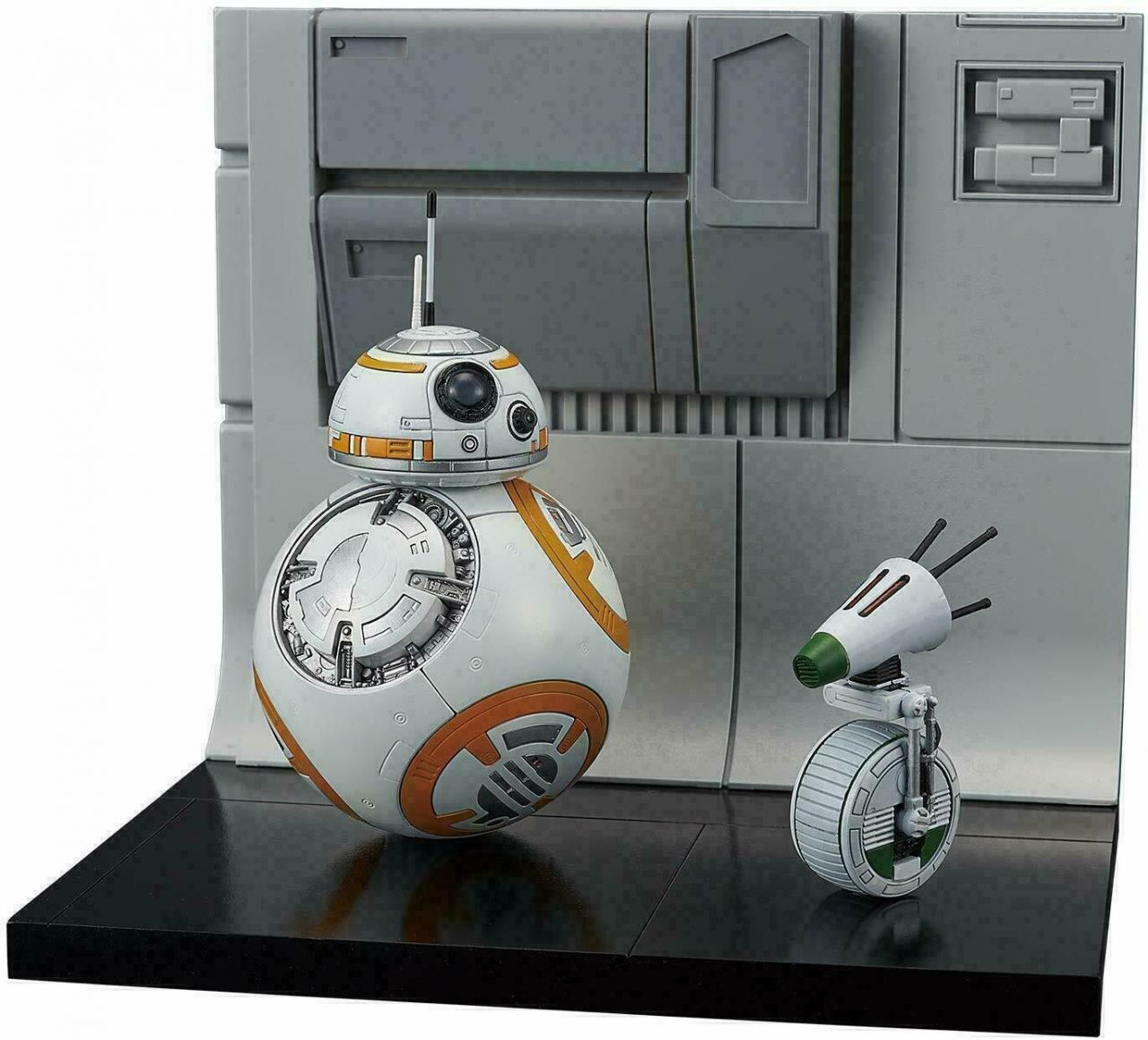 Bandai 5058226 BB-8&D-O Diorama Set (Star WarsThe Rise of Skywalker)