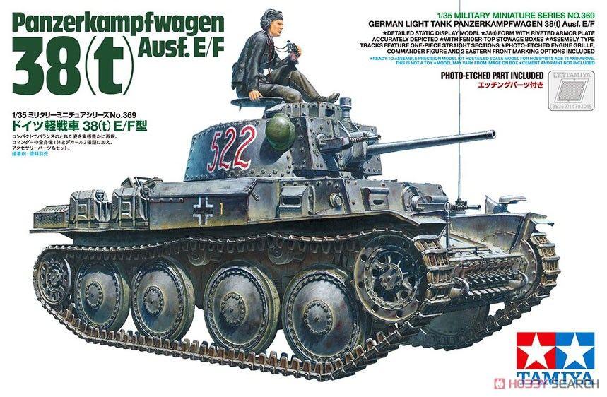 Tamiya 35369 German Pz.Kpfw.38(t) Ausf.E/F