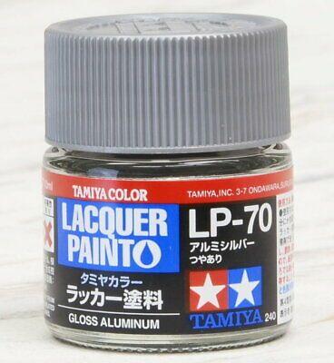 Tamiya 82170 LP-70 Gloss Aluminum