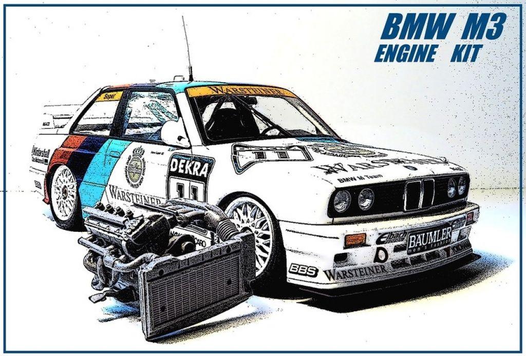 ModellingMaster MM2M3 BMW M3 DTM engine kit