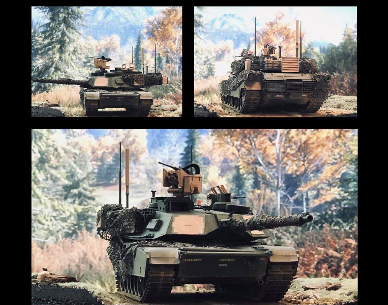 VOIIO Models 01101 M1A2 SEP V2 Abrams