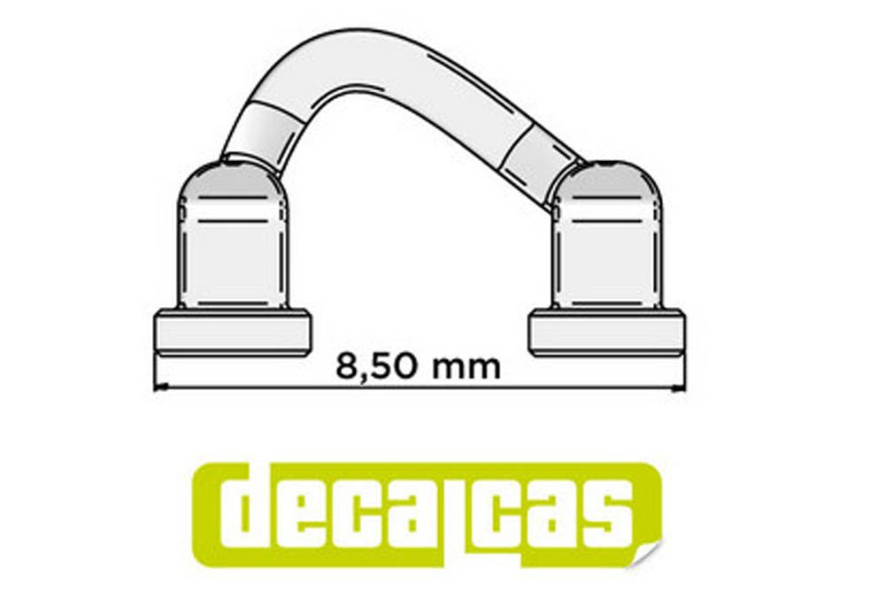 Decalcas PAR012 Hood / door hinges