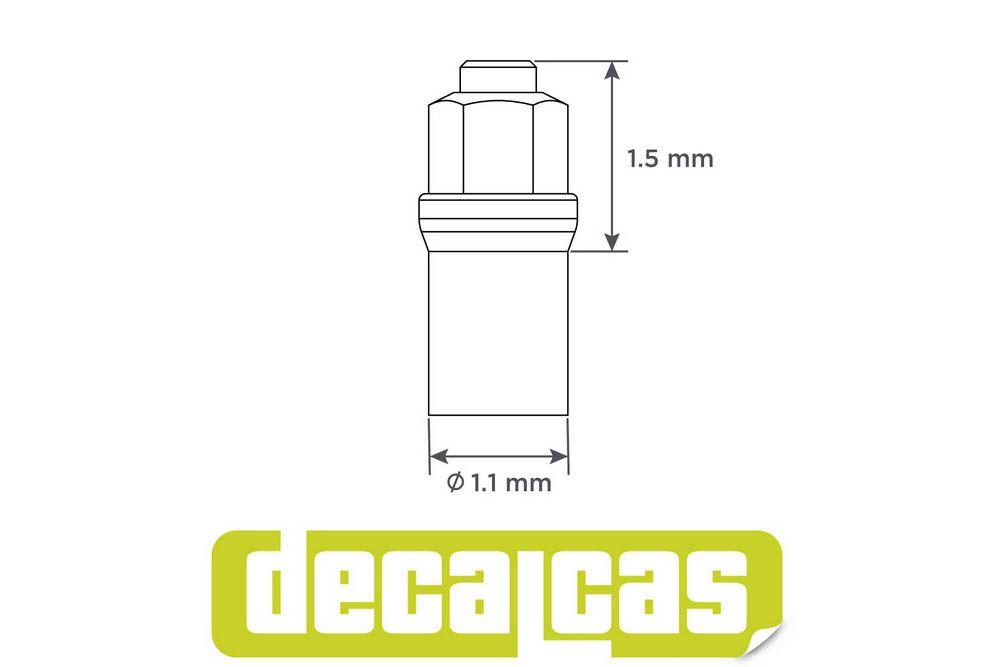 Decalcas PAR017 Classic tire valves