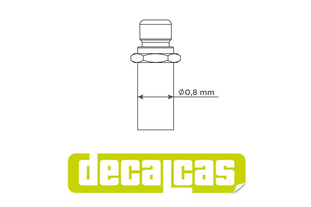 Decalcas PAR024 Push button