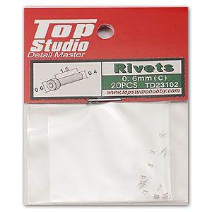 Top Studio TD23102 0.6mm Rivets (c)