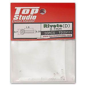 Top Studio TD23111 0.7mm Rivets (d)