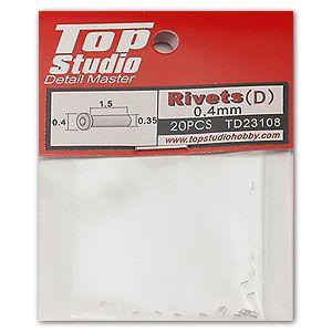 Top Studio TD23108 0.4mm Rivets (d)