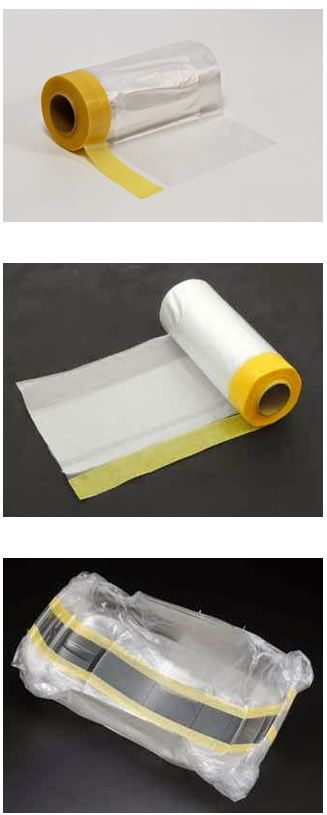 Tamiya 87164 Masking Tape with Plastic Sheeting 550mm