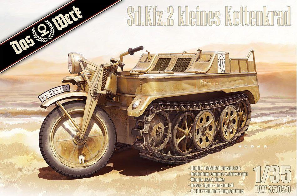 Das Werk 35020 Kleines Kettenkraftrad Sd.Kfz.2
