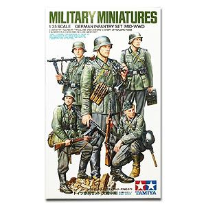 Tamiya 35371 German Infantry Mid-WWII