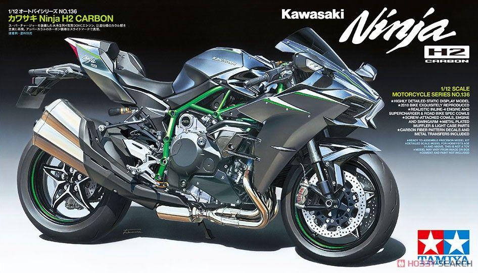 Tamiya TAM14136 Kawasaki Ninja H2 Carbon