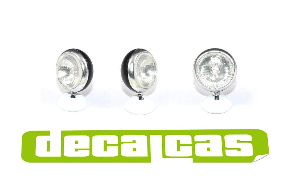 Decalcas PAR015 Super Oscar Spot Lights 1/24