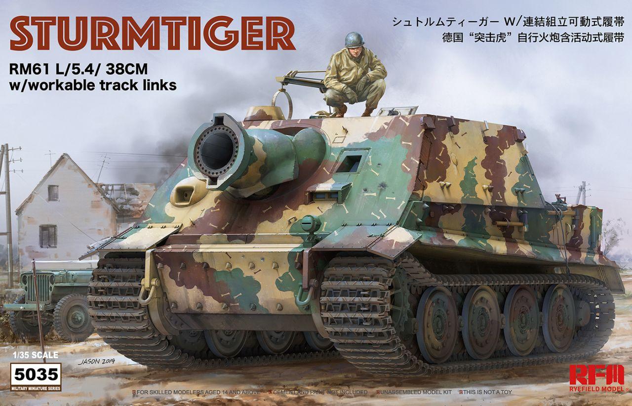 Rye Field Model 5035 Sturmtiger RM61 L/5.4/38cm