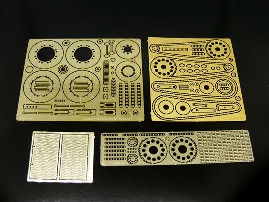 ModellingMaster MM-AM12-001 Photo Etch set for Tamiya Yamaha YZR500 Kenny Roberts (kits 14001, 14026, 14102)