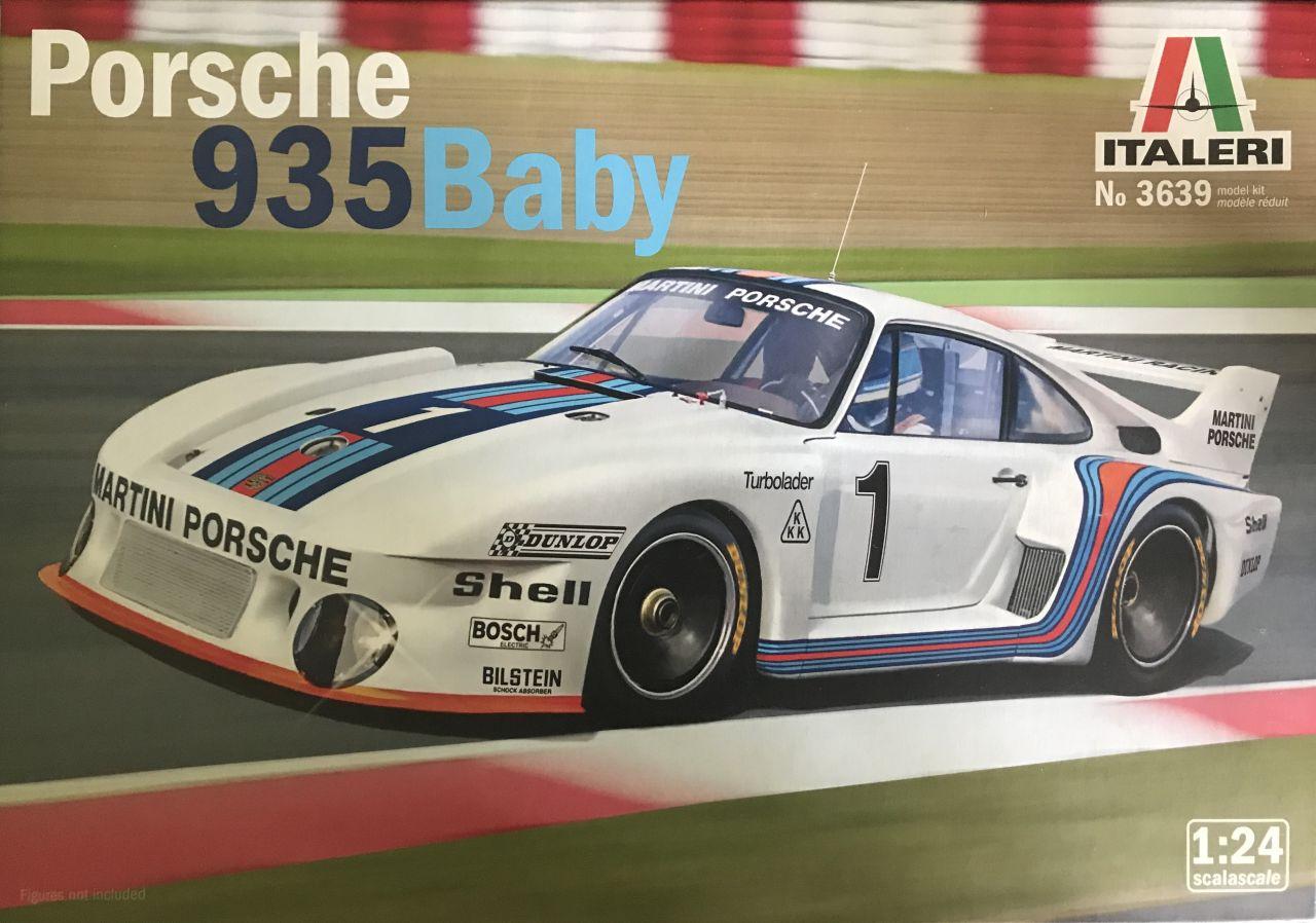 Italeri 03639 Porsche 935 Baby