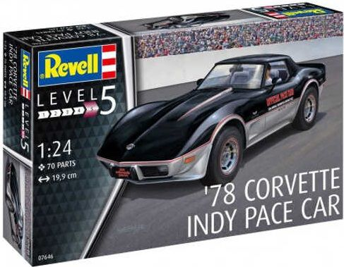 Revell 67646 Corvette Indy Pace Car 1978 with paint
