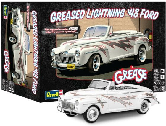 Revell 14443 Greased Lightning 1948 Ford Convertible