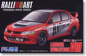 Fujimi 03817 Ralliart Lancer Evolution VIII