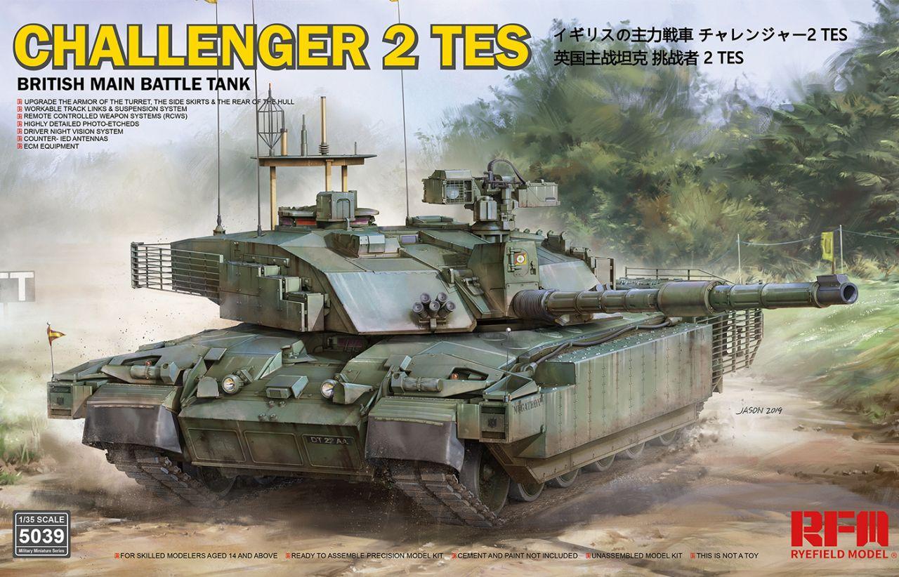 Rye Field Model 5039 CHALLENGER 2 TES