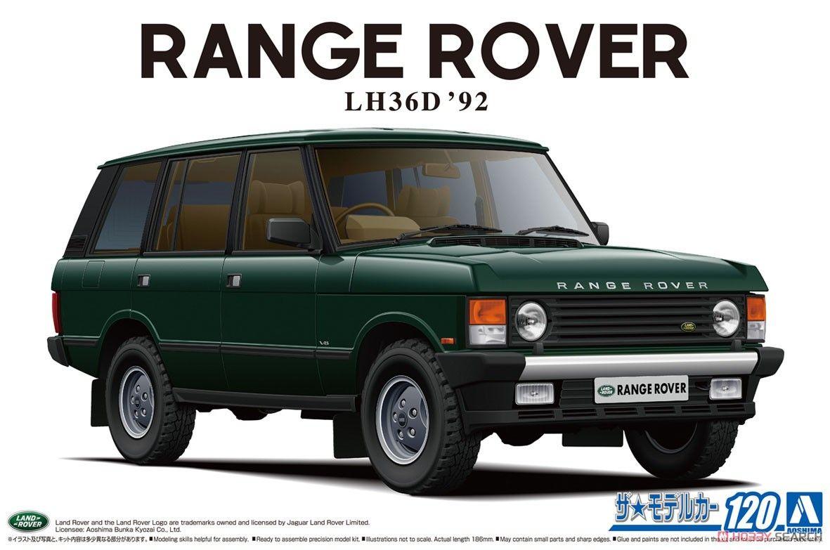 Aoshima 05796 Land Rover LH36D Range Rover Classic `92