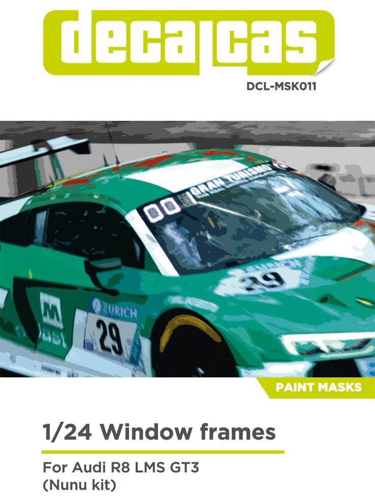Decalcas MSK011 Audi R8 LMS GT3
