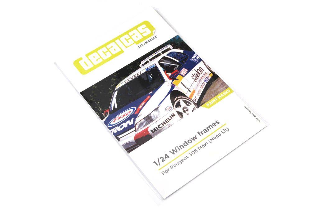 Decalcas MSK012 Peugeot 306 Maxi
