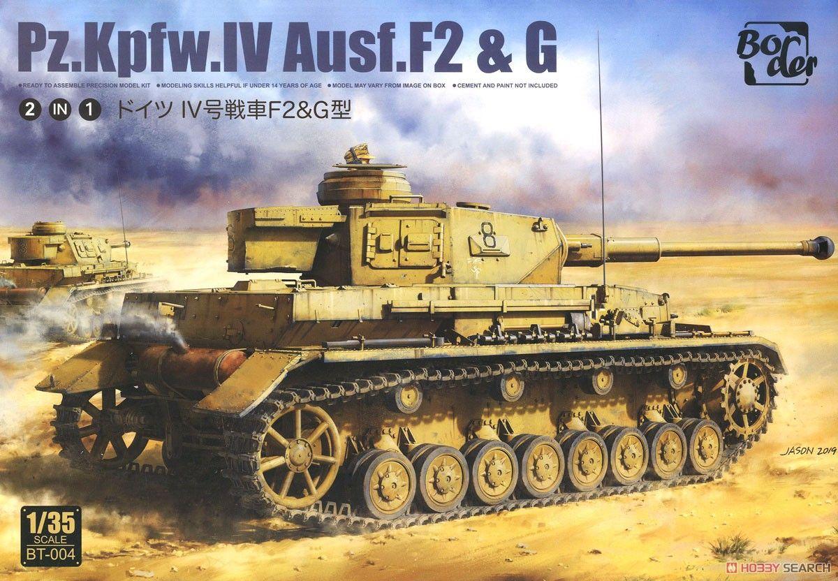 Border Model BT004 German Pz.kpfw.IV Ausf.F2 & G (2in1)