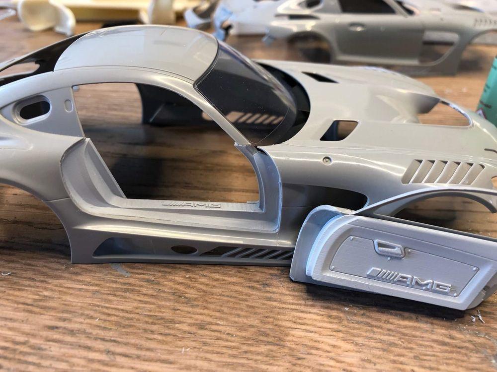 Hobby Design HD03-0548 Mercedes AMG GT3 Door&Engine Detail Kit
