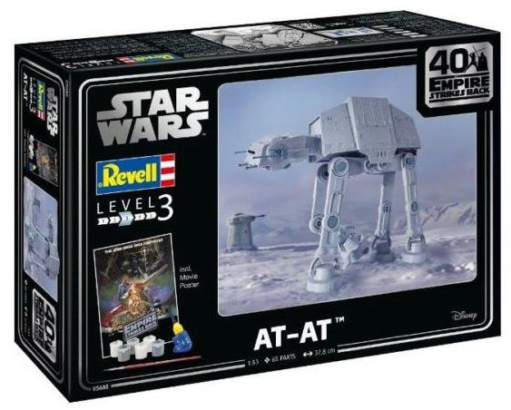 Revell 05680 AT-AT-40th Anniversary The Empire Strikes Back