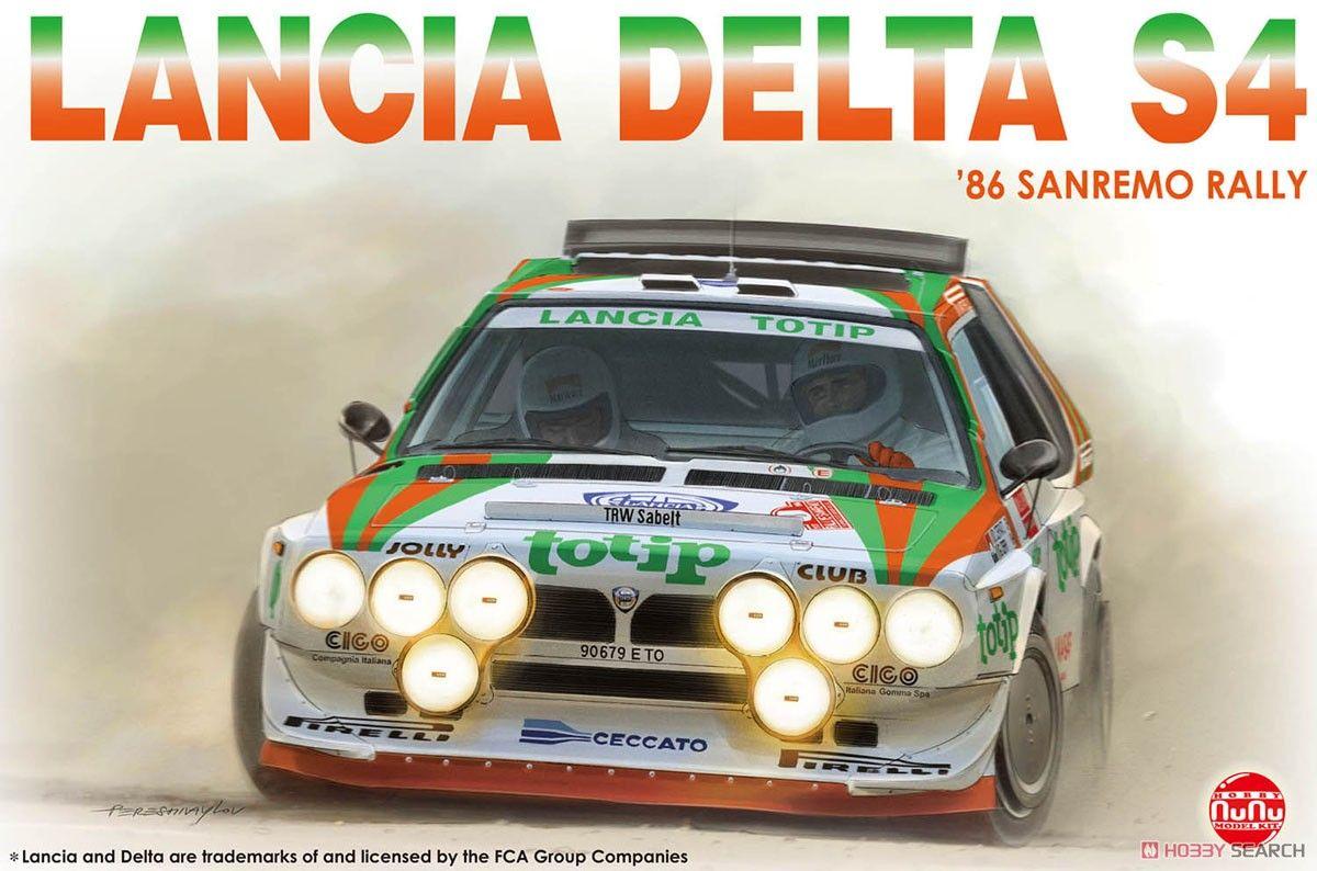 NuNu Model Kit PN24005 Lancia Delta S4 `86 Rallye Sanremo