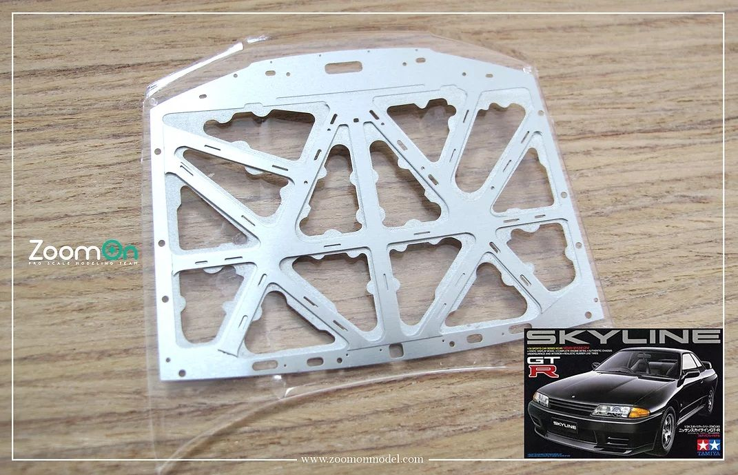 ZoomOn ZD078 Nissan Skyline GTR R32 hood structure