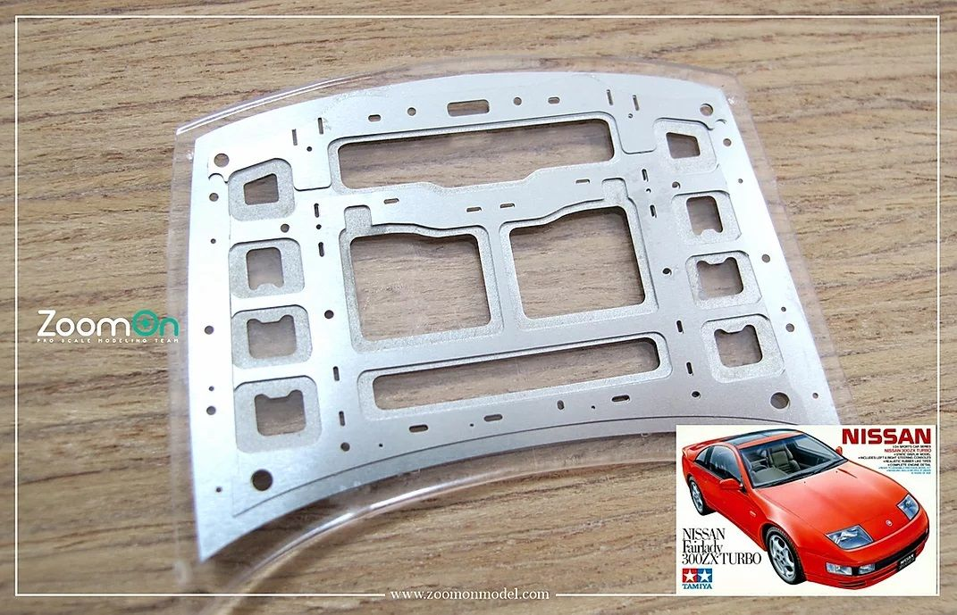 ZoomOn ZD079 Nissan Fairlady 300ZX hood structure