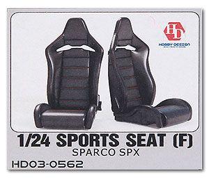 Hobby Design HD03-0562 Sport Seat (F) Recaro SPX