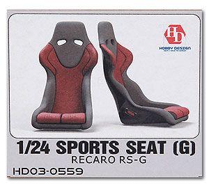 Hobby Design HD03-0559 Sport Seat (G) Recaro RS-G