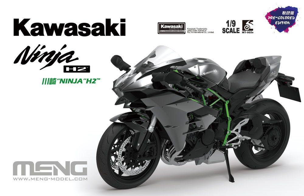 MENG MT-002s Kawasaki Ninja H2 (Pre-colored Edition)
