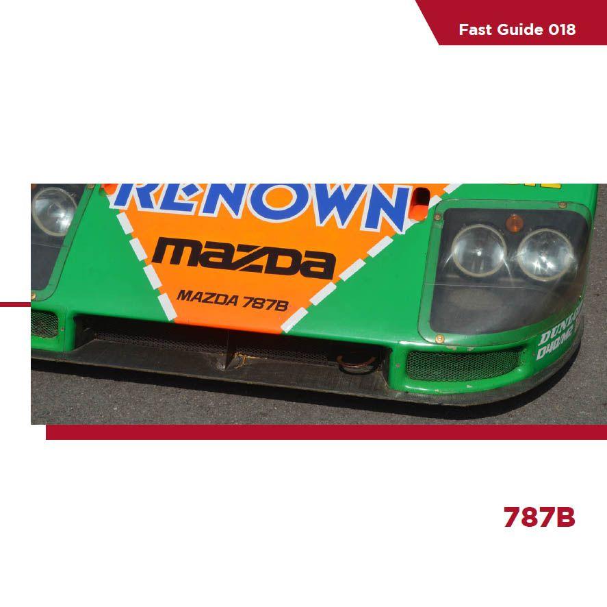 Komakai KOM-FG018 Fast Guide - Mazda 787B